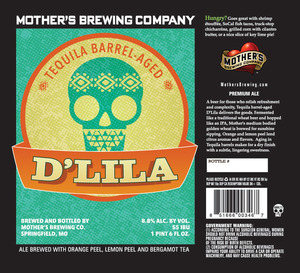 Mother's Brewing Company Tequila Barrel-aged D'lila