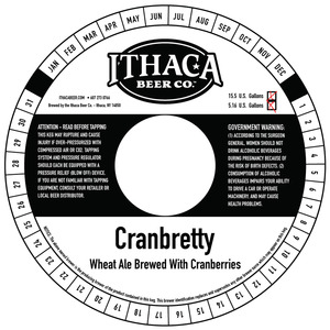 Ithaca Beer Company Cranbretty