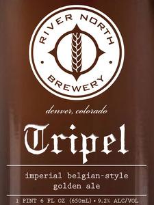 River North Brewery Tripel