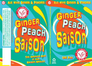 Tallgrass Brewing Co. Ginger Peach Saison