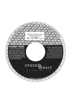 Other Half Brewing Co. All That And Then Some