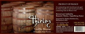 Brasserie Thiriez Vieille Brune