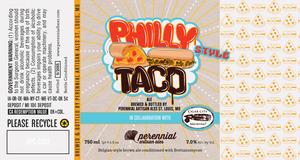 Perennial Artisan Ales Philly Taco