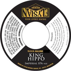 Elysian Brewing Company King Hippo