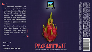 Upland Brewing Company Dragonfruit