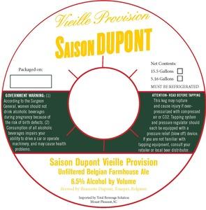 Saison Dupont Vieille Provision