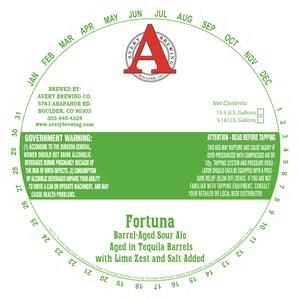 Avery Brewing Company Fortuna