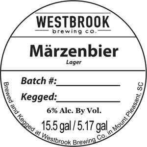 Westbrook Brewing Company Marzenbier