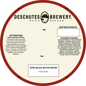 Deschutes Brewery Nitro Black Butte Porter