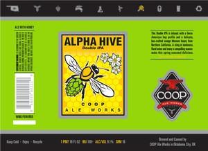 Alpha Hive Double Ipa