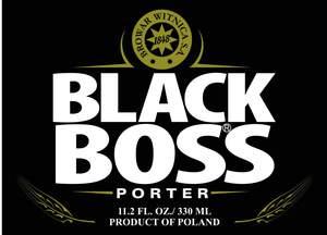 Black Boss Porter