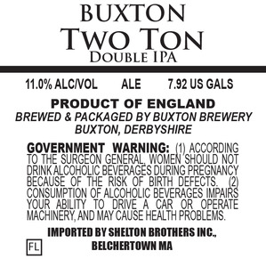 Buxton Brewery Two Ton