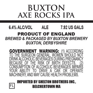 Buxton Brewery Axe Rocks