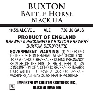 Buxton Brewery Battle Horse