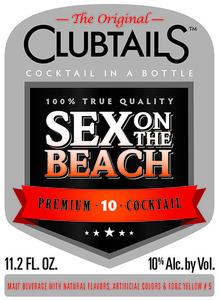Clubtails Sex On The Beach