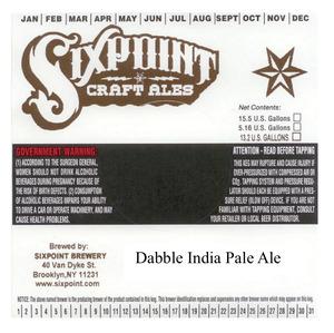 Dabble India Pale Ale