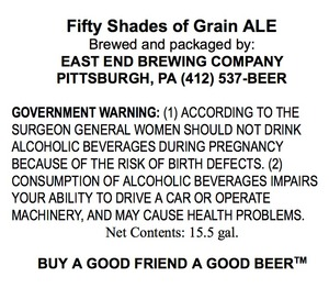 Fifty Shades Of Grain Ale