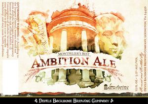 Montpelier's Best Ambition Ale
