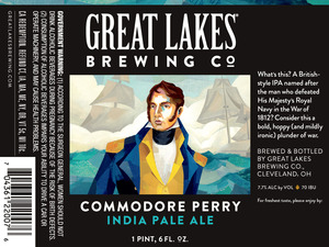 The Great Lakes Brewing Co. Commordore Perry