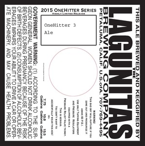 The Lagunitas Brewing Company Onehitter 3
