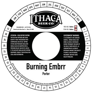 Ithaca Beer Company Burning Embrr