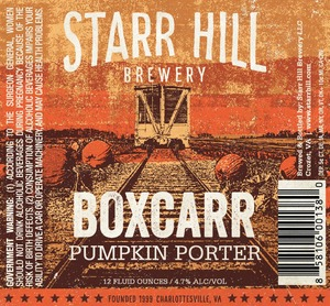 Starr Hill Boxcarr