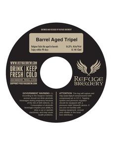 Refuge Brewery Barrel Aged Tripel