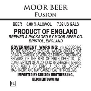 Moor Beer Fusion