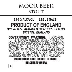 Moor Beer Stout