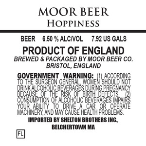 Moor Beer Hoppiness