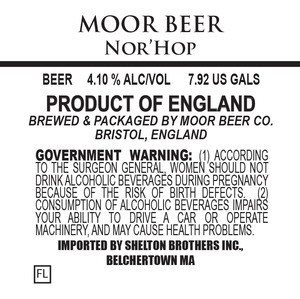 Moor Beer Nor'hop