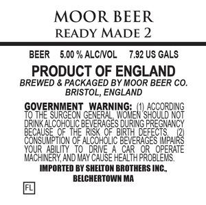 Moor Beer Ready Made