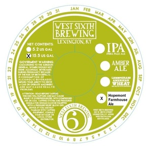 West Sixth Brewing Hopemont Farmhouse Ale