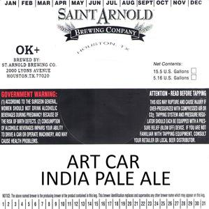Saint Arnold Brewing Company Art Car