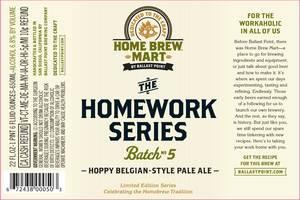 Ballast Point Brewing Co Homework Series #5