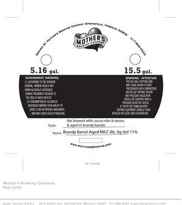 Mother's Brewing Company Brandy Barrel-aged Milf