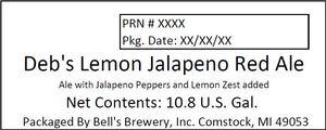 Debs' Lemon Jalapeno Red