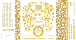 Perennial Artisan Ales Savant Blanc