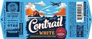 Uinta Brewing Company Contrail