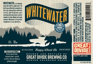 Great Divide Brewing Company Whitewater Hoppy Wheat Ale