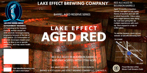 Lake Effect Brewing Company Lake Effect Aged Red