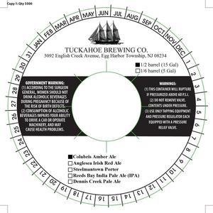 Tuckahoe Brewing Company Colubris Amber Ale