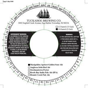 Tuckahoe Brewing Company Marigolden Apricot Golden Sour Ale