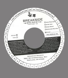 Breakside Brewery Old World IPA