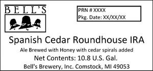 Bell's Spanish Cedar Roundhouse Ira