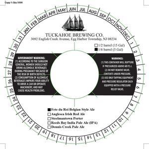 Tuckahoe Brewing Company Fete Du Roi Belgian Style Ale