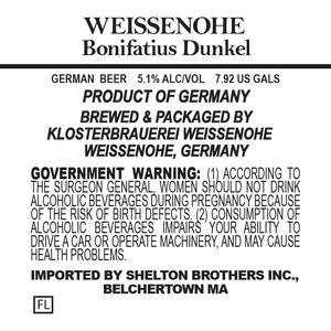 Weissenohe Bonifiatus