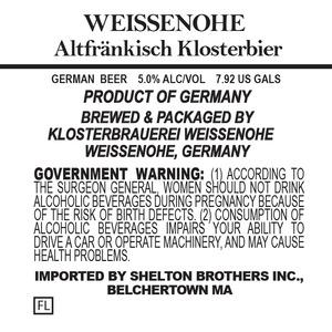 Weissenohe Altfrankisch