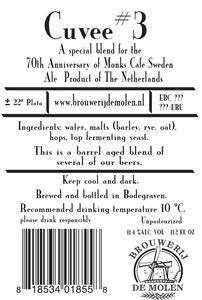 Brouwerij De Molen Cuvee # 3