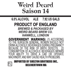 Weird Beard Saision 14